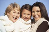 Portrait Of Grandmother, Mother And Daughter — Stockfoto