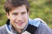 Portrait d'un homme souriant — Photo