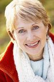 Portrait Of Senior Woman Smiling — Stock Photo