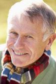 Portrait d'un homme senior souriant — Photo