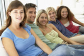Friends Spending Time Together — Stock Photo
