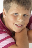 Young Boy Smiling — Stock Photo