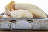 Yemek pişirme tavuk — Stok fotoğraf
