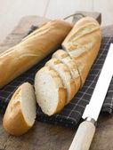 Sliced Baguette Sticks — Stock Photo