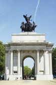 Веллингтон арка, Лондон, Англия — Стоковое фото