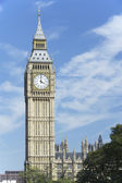 Big Ben And Houses Of Parliament, London, England — Stock Photo