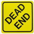 Stock Photo: Dead End Road Sign