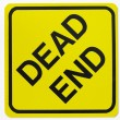 Dead End Road Sign — Photo