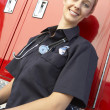 Portrait of female paramedic — Stock Photo #4790141