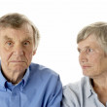 Portrait of senior couple — Stock Photo #4790648