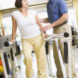 Physiotherapist With Patient In Rehabilitation — Stock Photo #4794319