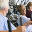 Patients Working Out In Gym — Stock Photo #4794339