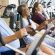 Patients Working Out In Gym — Stok fotoğraf