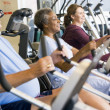 Stock Photo: Patients Working Out In Gym