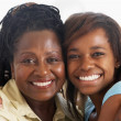 Woman With Her Teenage Daughter - Stockfoto