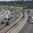 Blurred Traffic On A Busy Highway — Stock Photo #4794476