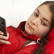 Young Girl Waiting For Phone Call — Stock Photo #4794819