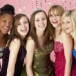 Group Of Teenage Friends Dressed For Prom — Stock Photo #4795199