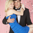 Young Couple Dressed For Party — Stock Photo