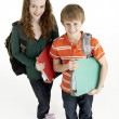 Portrait Of Young Male And Female Students — Stock Photo #4795602
