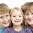 Group Of Children In Studio — Stock Photo #4795616