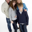 Portrait Of Family In Studio — Stock Photo #4795669