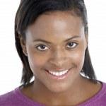 Studio Portrait Of Smiling Woman — Stock Photo #4795743