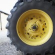 Stock Photo: Detail Of Tractor Tyre