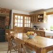 Stock Photo: Interior Of Farmouse Kitchen
