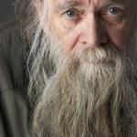 Senior Man With Long Beard — Stock Photo