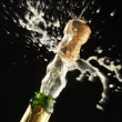 Popping Champagne Cork - Stock Photo