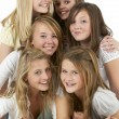 Royalty-Free Stock Photo: Group Of Teenage Girlfriends