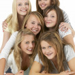Group Of Teenage Girlfriends — Stock Photo #4796727