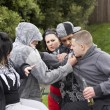 Stock Photo: Gang Of Youths Fighting