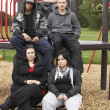 Group Of Young In Playground — Stock Photo #4796787
