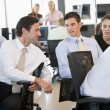 Stock Photo: Stock Traders In Conversation
