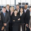 Group Shot Of Stock Traders — Stock Photo #4796950