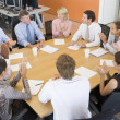 Stock Traders In A Meeting — Stock Photo #4796957