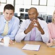 Stock Photo: Stock Traders Conducting Interview