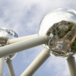The Atomium in Brussels — Stock Photo #4797108