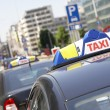 Taxi sign - Stockfoto