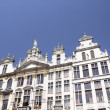Buildings of the the Grand Place, Brussels, Belgium - Stock Photo