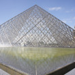 Musee du Louvre,Paris - Stock Photo