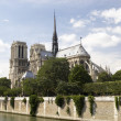 Notre Dame Cathedral,Paris - Stock Photo