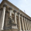 La Bourse,Paris Stock Exchange — Stock Photo