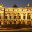 Exterior Of Paris Opera House At Night — Foto de Stock