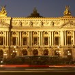 Royalty-Free Stock Photo: Exterior Of Paris Opera House At Night