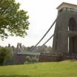 Clifton Suspension Bridge,Bristol,UK — Stock Photo