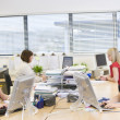 Women working in an office — Stock Photo