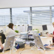 Stock Photo: Women working in office